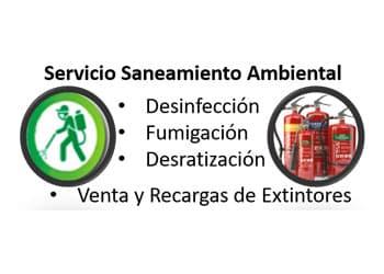 Saneamiento ambiental - Venta y recarga de extintores
